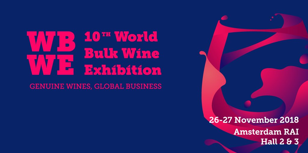AMSTERDAM WORLD BULK WINE EXHIBITION 2018