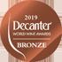 DECANTER WORLD WINE AWARDS 2019