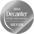 DECANTER WORLD WINE AWARD 2016