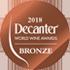 DECANTER WORLD WINE AWARDS 2018